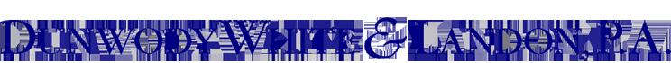 Dunwody White & Landon, P.A. Logo